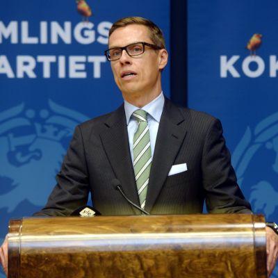 Alexander Stubb väljs till statsminister i dag.