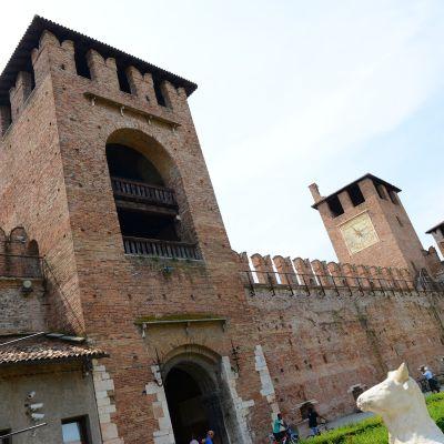 Castelvecchio i Verona, Italien.