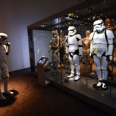 Stormtroopers på en utställning i Wien i Österrike.