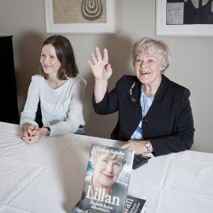 Lansering av biografin över Elisabeth Rehn.