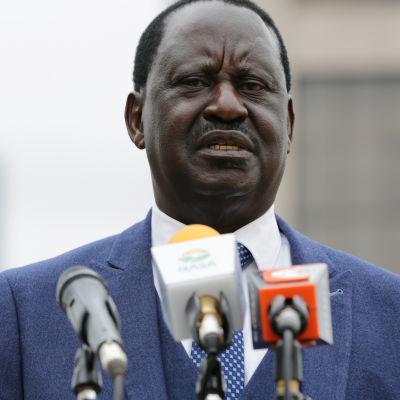 Oppositionsledaren Raila Odinga ställer upp i presidentvalet för fjärde och sannolikt sista gången
