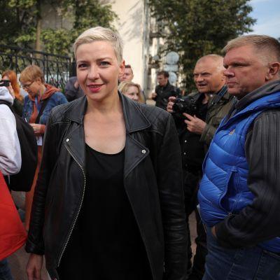 Protestledaren Maria Kolesnikova