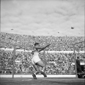 Släggkastning, OS 1952.