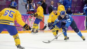 Nicklas Bäckström åker inte till VM i ishockey.