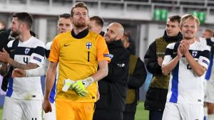 Finland firar seger.
