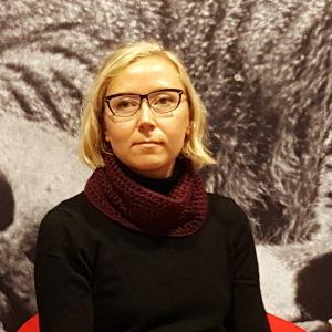 Författaren Catharina Gripenberg 2016.