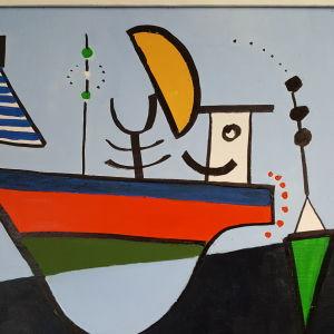 Stina Ericssons verk, en båt. 2008.