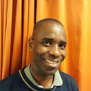 Lukogo Byona från Demokratiska Republiken Kongo, bosatt i Smedsby i Korsholm. Studerar på Österbottens högskola. 2016.