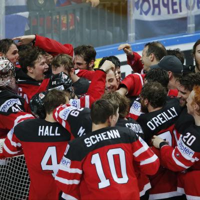 Kanada firar VM-guld