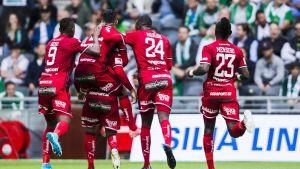 Östersund firar mål