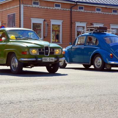 Två klassiker möts: SAAB och Volkswagen