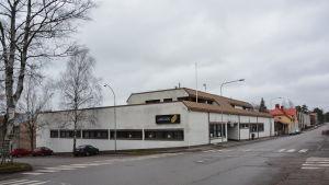 Det så kallade telehuset i Ekenäs.