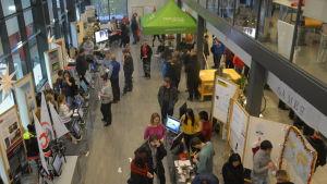 Den i ordningen 14e Högskoledagen ordnades på onsdag i Novia i Ekenäs.