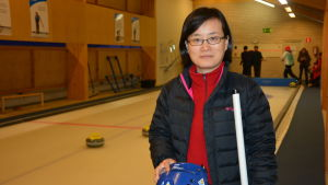 Wendy Wang från Kina.