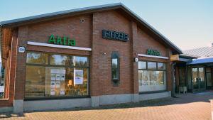 Aktiakontoret i Sjundeå.