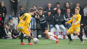 Varken VPS eller SJK lyckades vinna på svensk mark.