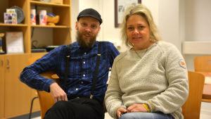 Petri Horttana och Ilse Klockars.