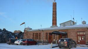 Hamnbolagets kontor i Hangö.