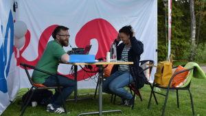 Joakim Lax intervjuar Anne Teir-Siltanen i Yle Vega