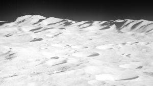 Aitken-kratern på månen.