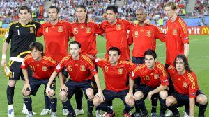 Spaniens EM-guldlag från 2008