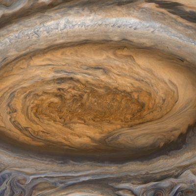 Den stora röda fläcken på Jupiter