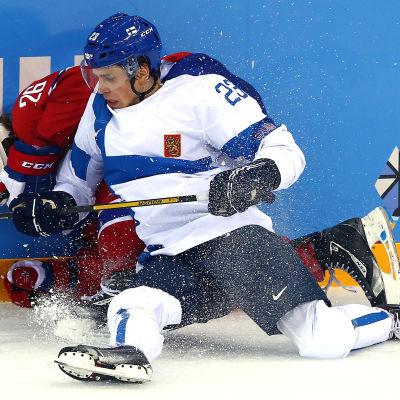Sakari Salminen under OS i Sotji.