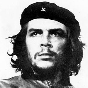 """Kuuluisa kuva Ernesto """"Che"""" Giuevaran kasvoista."""