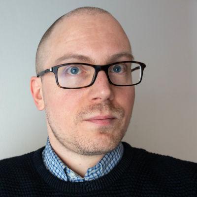 Porträtt på Niklas Fagerström.
