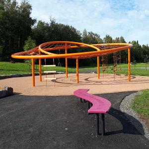 Brita Marias park i Karleby.