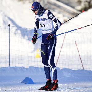 Eveliina Piippo vann 10 kilometer fritt.