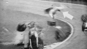 Gilles Villeneuve flög handlöst genom luften innan han omkom.