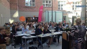 Svensk ungdoms kongress i Jakobstad maj 2015.
