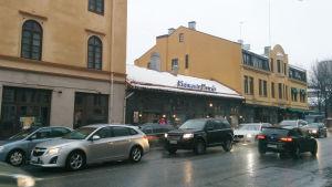 Pizzeria Dennis vid Slottsgatan 17 i Åbo