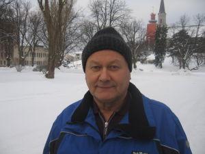 SDP:s Jouko Kavander i Hangö