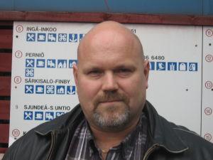 Sannfinländarnas Petri Palin leder partiet i Raseborg.
