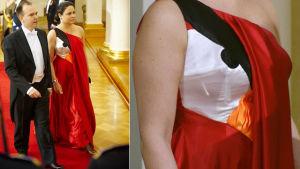 angry birds klänning på självständighetsbalen 2011