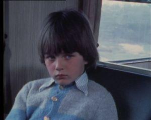 Laban åker tåg ensam