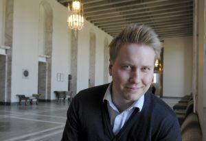Niklas Mannolk valdes till SU-ordförande den 29 april 2012.