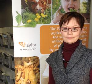 Chefen för enheten för produktsäkerhet vid Evira Arja Kaiponen