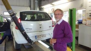 Stig-Henrik Wikström har besiktat många bilar