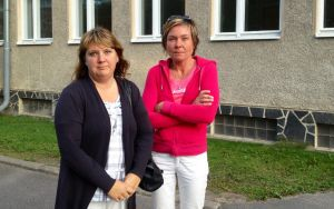Carina Enberg och Ann-Cathrine Winberg