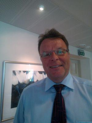 Kjell Nybacka på Västra Finlands EU-kontor.