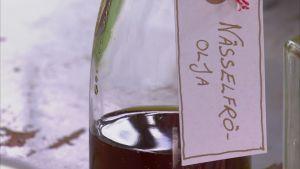 Nässelfröolja är bra mot klåda.