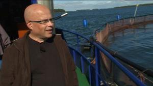 Jorma Leed är produktionschef vid Heimon kala.