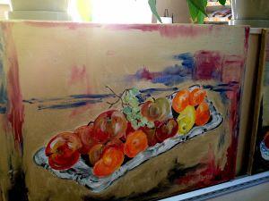 En tavla av Petra Domsch