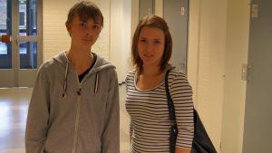 Jonas och Stiina har gjort en lokalhistorisk film