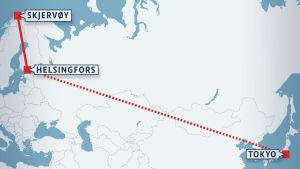 Laxens vandring från Nordnorge till Japan