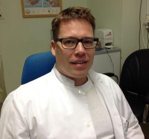 Ögonläkaren och -kirurgen Mika Harju