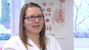 Hjärtskötare Johanna Henriksson